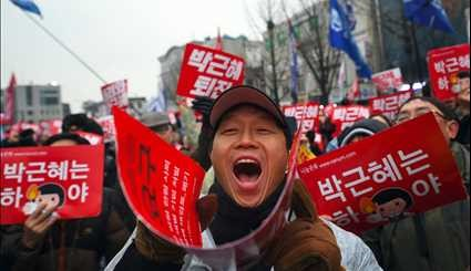 South Korean Just Want Impeachment of Scandal Hit President