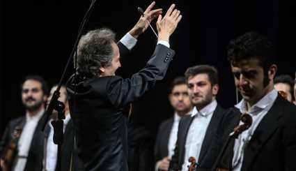 Tehran's Symphony Orchestra performs in Vahdat Hall