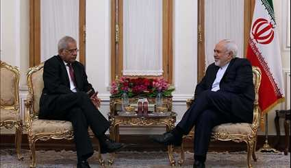 Zarif's Monday meetings
