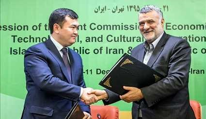 Iran-Kazakhstan Joint Economic Commission Holds Meeting in Tehran