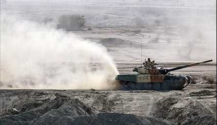 Final Phase of Massive Ground Force Drills in Southeastern Iran
