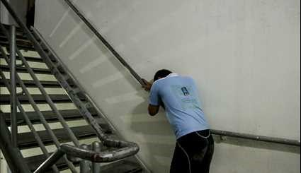 Milad Tower hosts intl. stair climbers