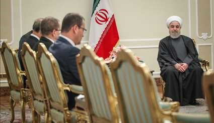 Rouhani, IAEA head meet in Tehran