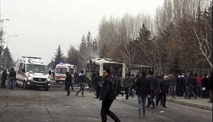 Explosion Hits Bus in Turkish City of Kayseri | Photos