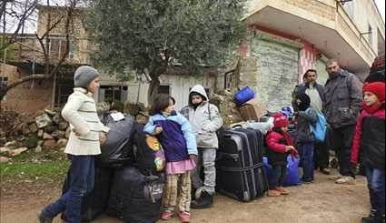 Residents of Fua'a & Kafraya Waiting to Be Evacuated from Besieged Towns