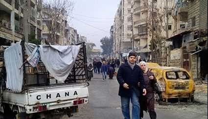 Syria: Hundreds of Civilians Flocking Back to Eastern Aleppo