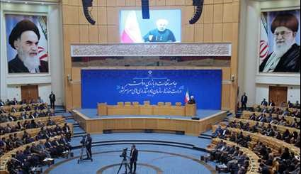Rouhani attends meeting of inspecting bodies