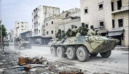 Russian Sappers Clearing Aleppo from Mines