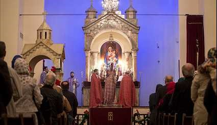 New Year celebration in Sarkis Cathedral