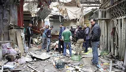28 Killed, over 50 Injured as Twin Blasts Hit Market in Baghdad