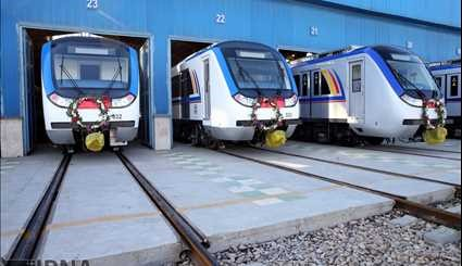 Tehran metro gets new wagons, locomotives