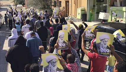 Bahrainis Hold Nationwide Rallies in Support of Opposition Leaders