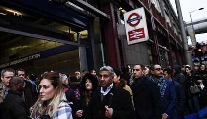 Strike Brings More Rail Misery for London Commuters