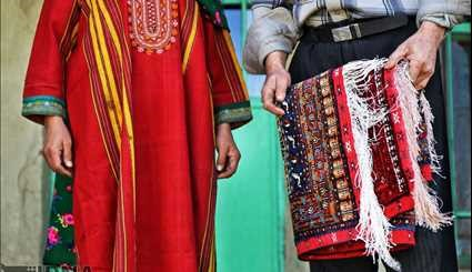 Doidokh village popular for weaving silk carpets