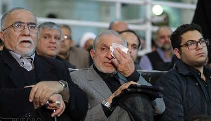 Rouhani attends commemorating ceremony of late Ayatollah Hashemi Rafsanjani