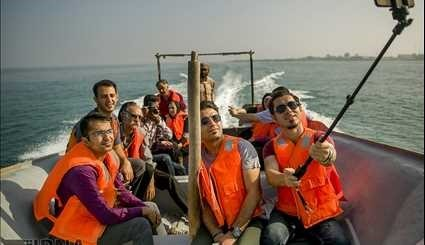 Qeshm Island in southern Iran, a tourist attraction