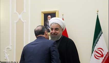 President Rouhani, Syrian PM meeting in Tehran