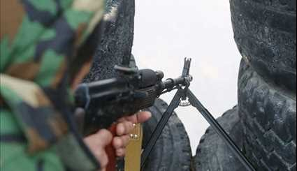 Syrian Army Sharpshooters Hunting Terrorists in Northwestern Damascus