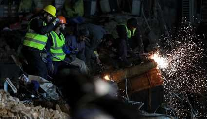 Relief work still underway in collapsed Plasco building