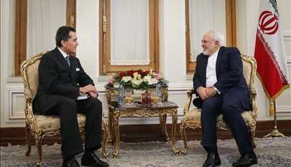 FM Zarif's visits on Mon.