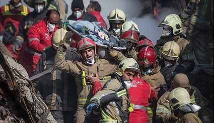 More Bodies Retrieved from Plasco Building Rubble