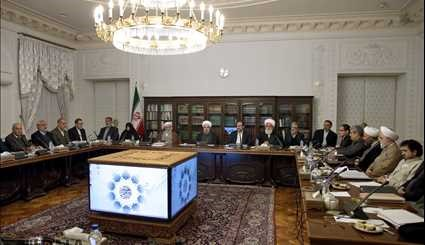 President Rouhani attends Cultural Revolution Supreme Council's meeting