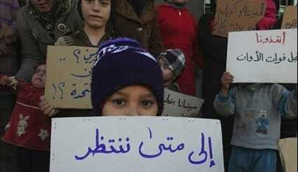 Syria: Children of Fuaa & Kefraya Keep Calling for UN Attention