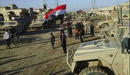 Iraqi Forces Continue Mosul Operation Northeast of City