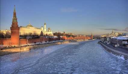 Minus 35°C weather in Moscow