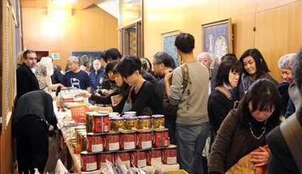 Tokyo hosts charity market for Plasco firefighters