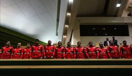 Firefighters attend Parl. open session