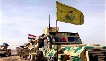 Iraq's Nujaba Forces Cleaning Towns, Villages from Terrorists