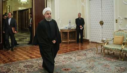 Rouhani meets with head of Belarus Natl. Assembly