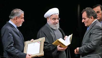 Rouhani attends IRI Book of the Year Award