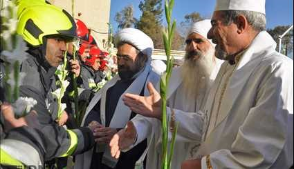 Monotheistic religions unity ceremony in Isfahan