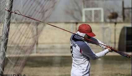 Women's Softball National Team camp in Isfahan