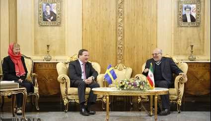 Swedish PM in Tehran