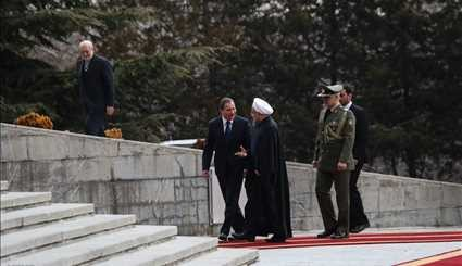 Rouhani officially welcomes Swedish PM