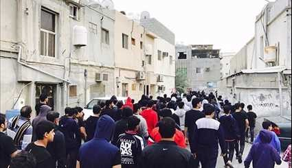 Clashes in Bahrain amid Protests Denouncing