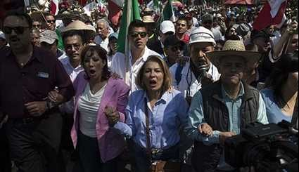 Anti-Trump March in Mexico City