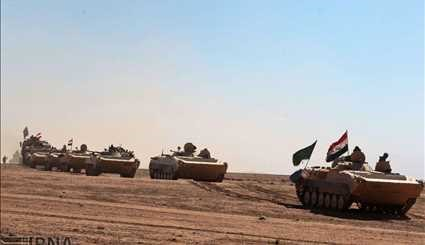 Iraqi army advanced toward the village of Sheikh Yunis in southern Mosul