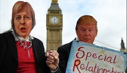Thousands Protest over Donald Trump's State Visit to UK