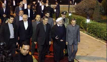 Return of the President to Tehran