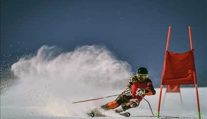 Ski competitions in Pooladkaf ski resort