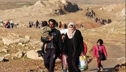 Displaced Citizens Continue to Flee Mosul as Security Forces Seize Key City Sites
