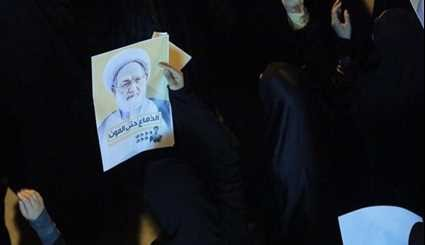 Bahrainis Rally in Support of Sheikh Issa Qassim