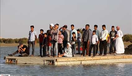 Houri boat tournament in Qeshm