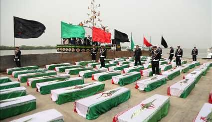 Bodies of 165 Iranian Martyrs Repatriated from Iraq