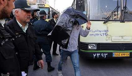 Dealing with offenders last Wednesday of the year - Mashhad