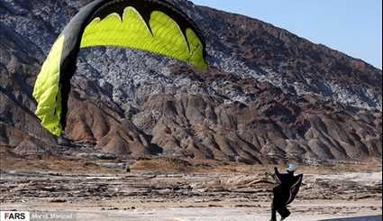 Paragliding in Iran